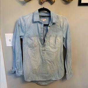 Merona target chambray denim shirt